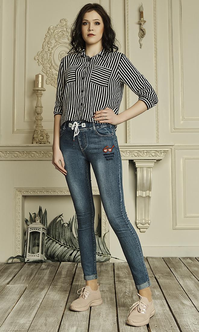 566bae32acff Женские джинсы на завязках