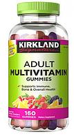 Kirkland Signature Adult Multivitamin Gummies 160 жевательных конфет. Витаминно-минеральный комплекс