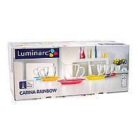 Сервиз чайный Luminarc Carina Rainbow 220 мл (6 чашек + 6 блюдцев)  J5978