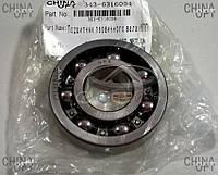 Подшипник первичного вала КПП, передний, Geely MK2 [1.5, с 2010г.], 343-6316004, Original parts