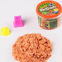 """Кинетический песок """"KidSand"""", оранжевый, 350 г, фото 1"""