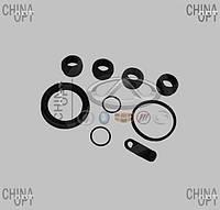 Ремкомплект гальмівного супорта переднього, гумки, на одну сторону, SMA Maple, L3501110K, Autofren