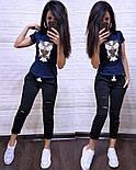 Женский стильный костюм: футболка и капри в расцветках (расцветки), фото 6