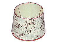 Плафон для масляных ламп Den Haan Карта мира