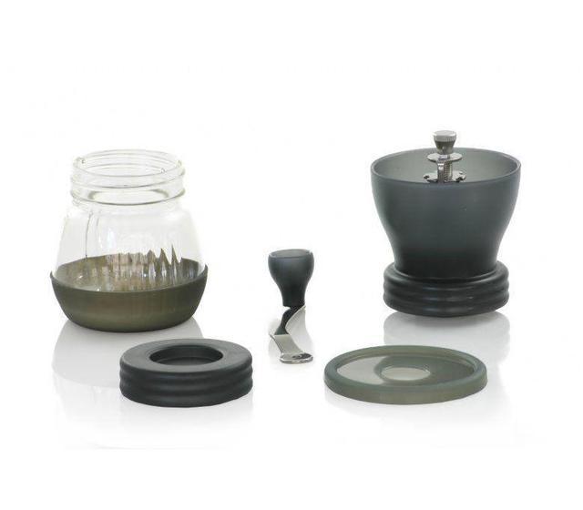 Японская ручная профессиональная кофемолка Hario Ceramic Coffee Mill Skerton+PLUS  Скриртон плюс
