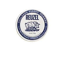 Помада для укладання волосся матова Reuzel clay matte blue, REU033, 113 г