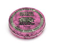 Помада для укладання волосся Reuzel pink heavy hold grease, REU003, 113 г
