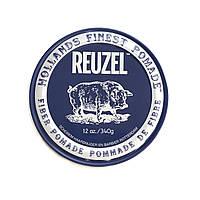 Помада для укладання волосся матова Reuzel Fiber dark blue, REU031, 340 г