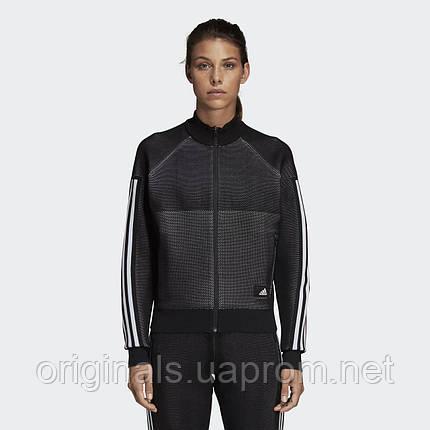 Женская олимпийка Adidas ID Knit W DP3912  , фото 2