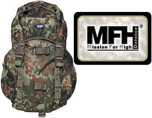 Рюкзак тактический 15л MFH Recon I камуфляж флектарн  30345V, фото 2
