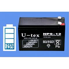 Аккумулятор U-tex 12В / 9,0 Ah (U-tex 12В / 9,0 Ah)