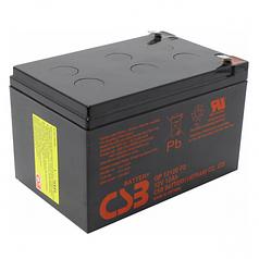 Аккумуляторная батарея CSB GP12120F2, 12V 12Ah (151х98х100мм) Q6 (SPARTA)