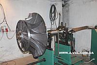 Балансировка ротора турбины.