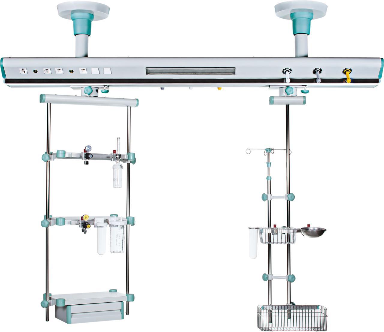 Реанимационный модуль инкубаторного типа