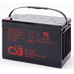 Аккумуляторная батарея CSB GPL121000, 12V 100Ah (343х168х215мм) (GPL121000)