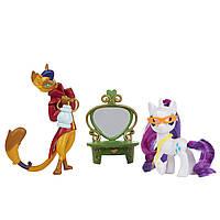 Игровой набор Май Литл Пони Рарити и Каппер Стильные друзья/My Little Pony Rarity & Capper E2246