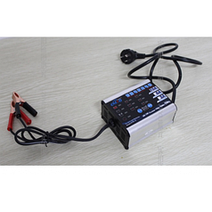 Зарядное устройство для аккумулятора (12V/24V 4Ah-200Ah) (MW-200)