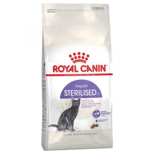 Корм для котів (Роял Канін) ROYAL CANIN Sterilised 37 10 кг - для стерилізованих котів до 7 років
