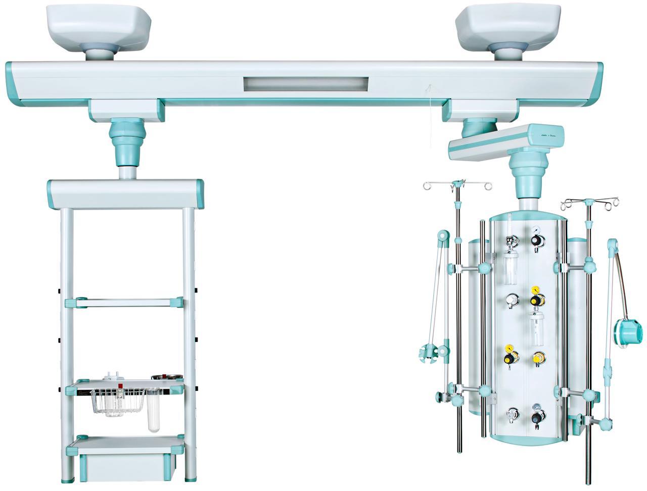 Реанимационный модуль, потолочный, подвижный, одноплечевой