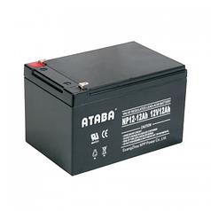 Аккумуляторная батарея 12V 12Ah Ataba (09742)