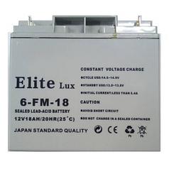 Аккумуляторная батарея 12V 18Ah Elite (181х77х167 мм) (6FM-18)