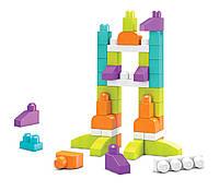 Конструктор детский Первые строители Мега Блокс/Mega Bloks Imagination Block Buildable Playset FPM52