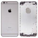 Корпус для iPhone 6 plus, білий, з тримачем SIM-карти, з боковою кнопкою