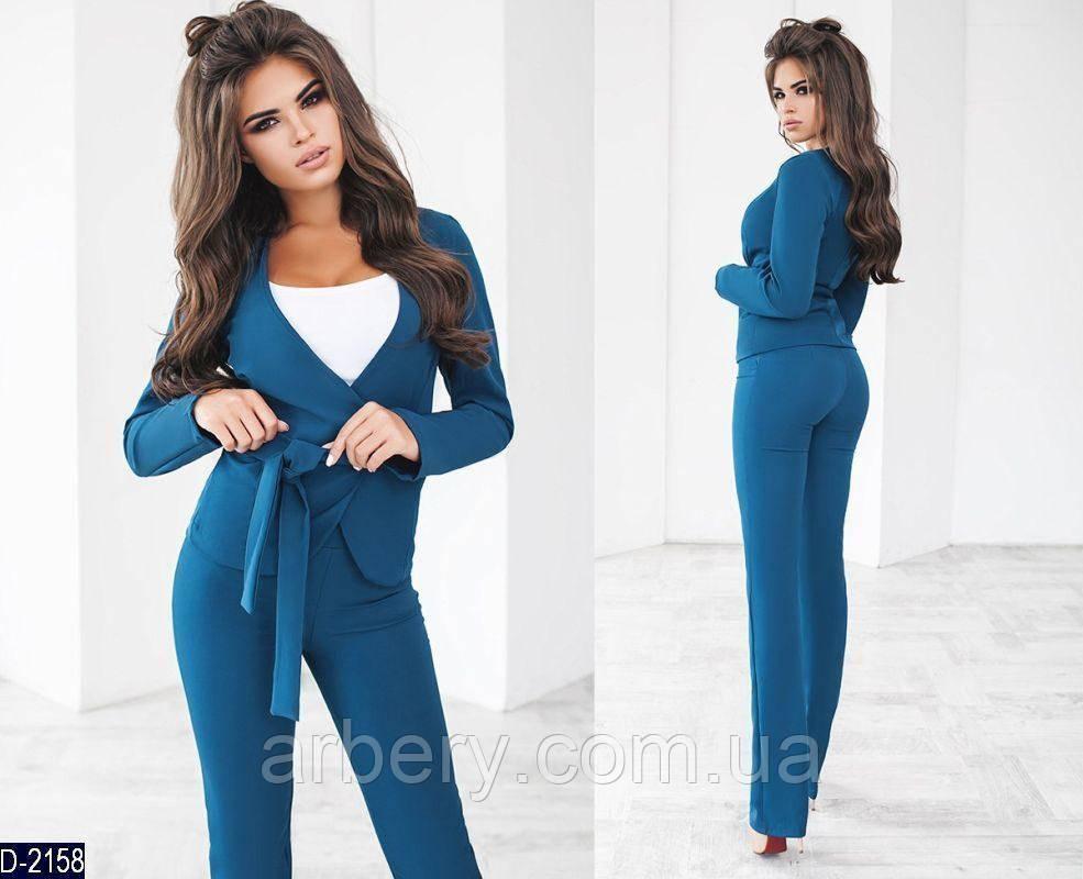 4749baf6b642df3 Женский нарядный брючный костюм тройка: продажа, цена в Одессе ...