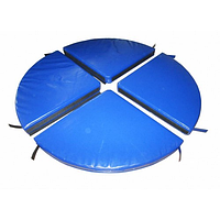 Мат для пилона Pole Dаnce Грация-4 (диаметр 140 см, высота 10 см), фото 1