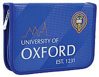 """Пенал твёрдый без клапана HP-02 """"Oxford"""" «1 Вересня» 532250, фото 1"""