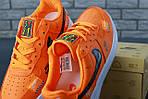 Кроссовки Nike Air Force 1 Low Just Do It, оранжевые, фото 3