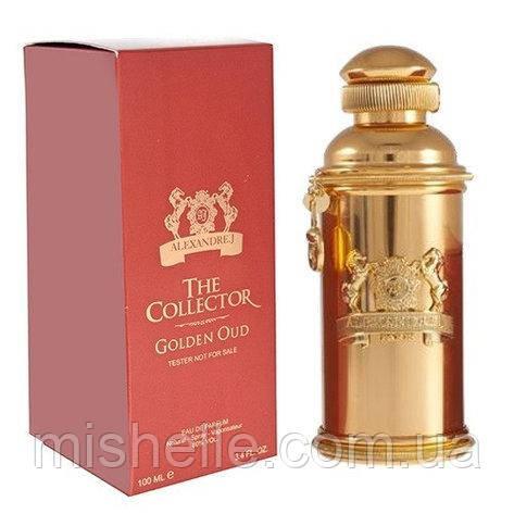 Тестер унісекс Alexandre J The Collector Golden Oud (Олександр джей колектор голден оуд) репліка