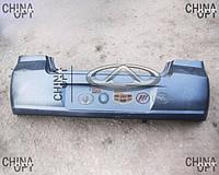 Бампер задний, пластик черный, не крашенный, хэтчбек, Geely MK Cross, 1018006132, Original parts