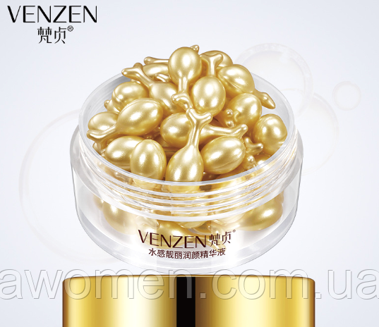 Сыворотка для лица Venzen Gold 30 капсул