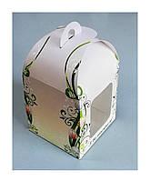 Пасхальная коробка с принтом 120*120*150