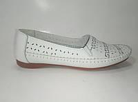 Женские кожаные мокасины ТМ Allshoes, фото 1