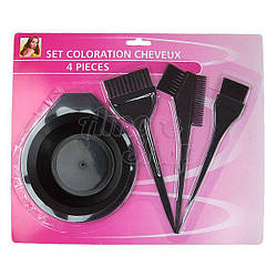 Кисти и миски для окраски волос