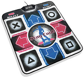 X-treme Dance Pad музыкальный танцевальный коврик dance mat для компьютера, фото 2