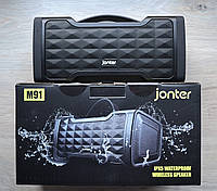 Беспроводная блютуз калонка Jonter M91/ портативная акустика bluetooth 24W , фото 1