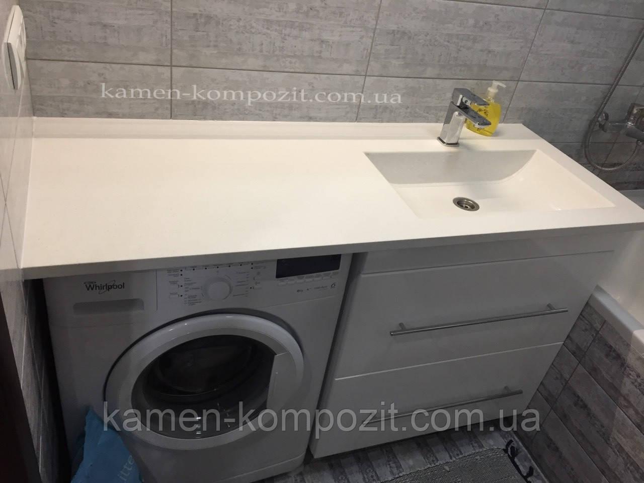 Столешница для ванной комнаты с чашей, фото 1
