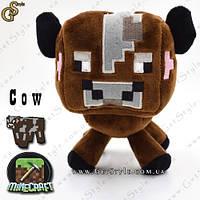 """Игрушка Корова из Minecraft - """"Cow"""" - 16 х 15 см."""