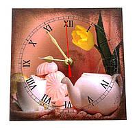 """Часы """"Зефир"""" (15*15см.)"""