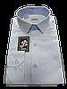 Рубашка полуприталенная в клетку  №10 - 6406/3