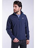 Ветровка толстовка куртка мужская синяя Softshell Avecs AV-70057 Blue Размеры M(46/48)