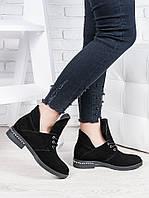 Замшевые ботинки Аврелия 6835-28