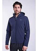 Ветровка толстовка куртка мужская синяя Softshell Avecs AV-70060 Blue Размеры M(46/48)