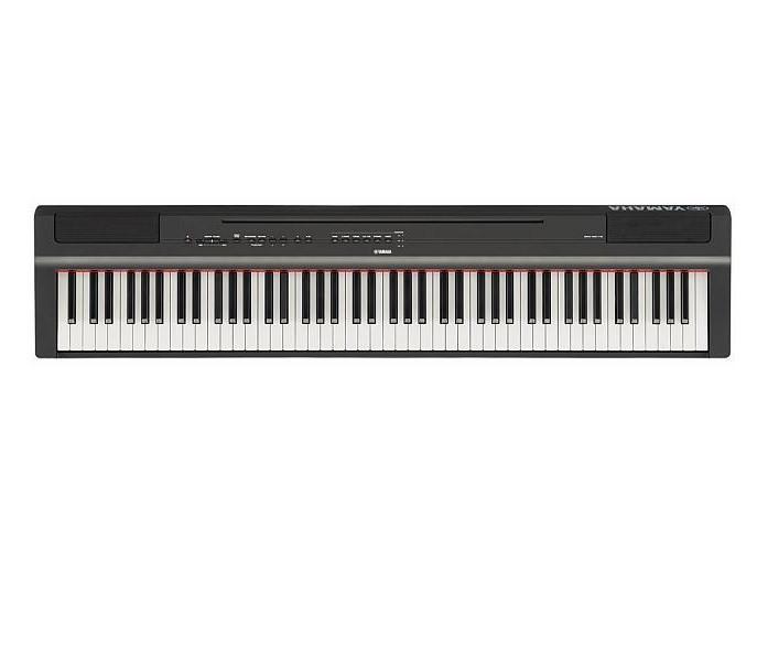 Цифровое пианино Yamaha P-125 Black