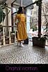 Хлопковое платье миди с пышной юбкой 2ty2415, фото 3
