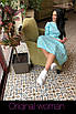 Хлопковое платье миди с пышной юбкой 2ty2415, фото 5