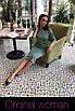 Приталенное платье из трикотажа длиной ниже колена 2ty2416, фото 2